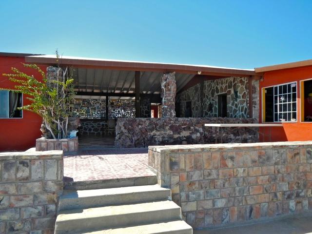 Hotel Pacifico Alfonsina entrance