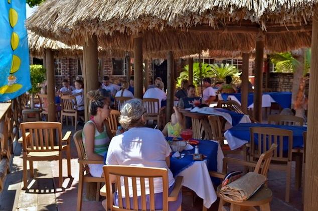 Dining at Baja Mar