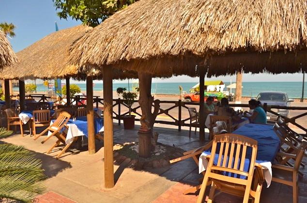 Baja Mar outdoor cabana