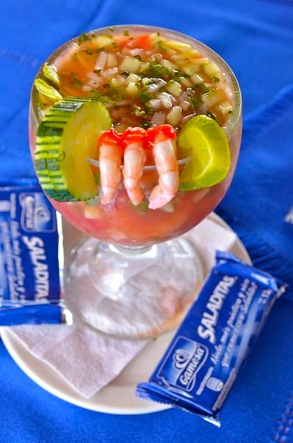 Baja Mar - shrimp cocktail