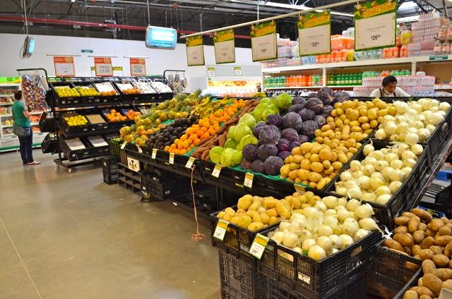 Bodega Aurrera San Felipe Fresh Produce