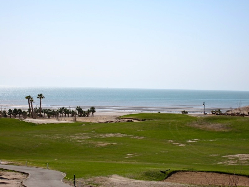 San Felipe rentals condo 134 - Golf course and sea view from master bedroom
