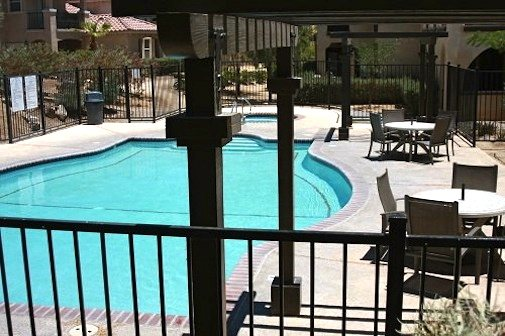 San Felipe rental condo semi private swimming pool