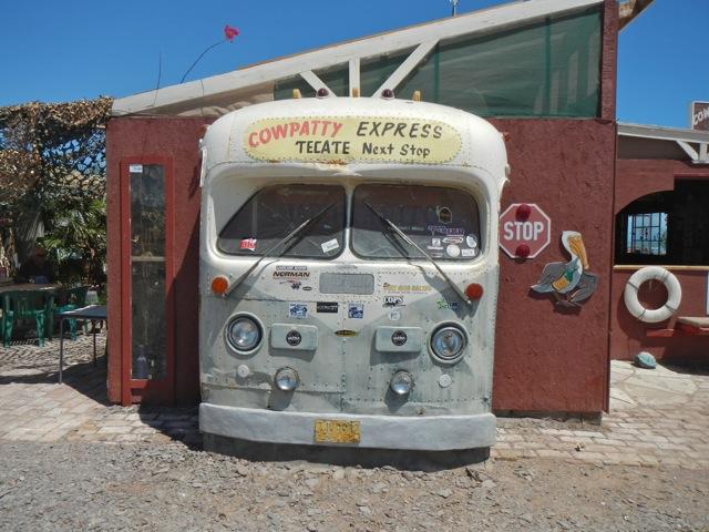 cowpatty san felipe bus sign