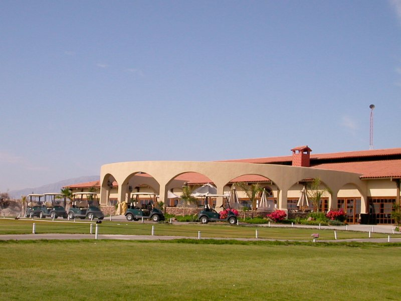 The Pavilion - San Felipe Mexico golf course club house