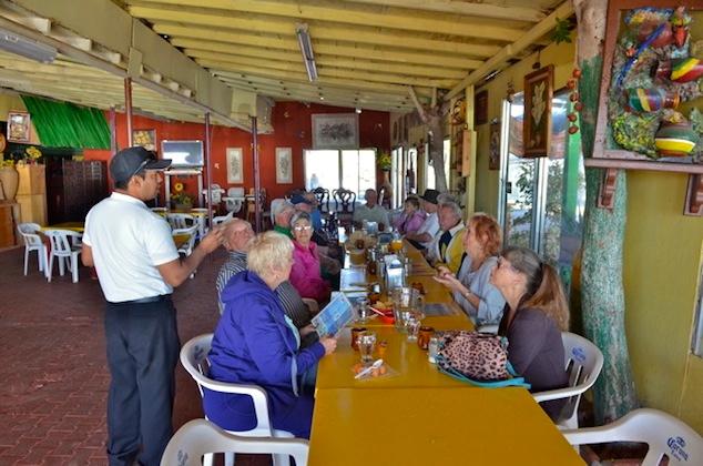 Guests in La Morena restaurant