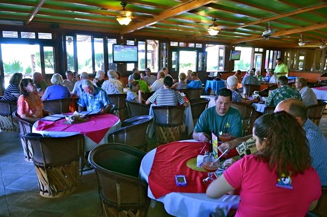 La Vaquita San Felipe Restaurant dining hall