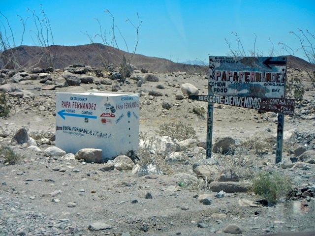 Papa Fernandez road sign