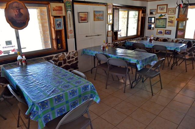 Papa Fernandez restaurant interior
