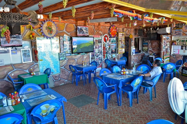 Rosita restaurant interior view