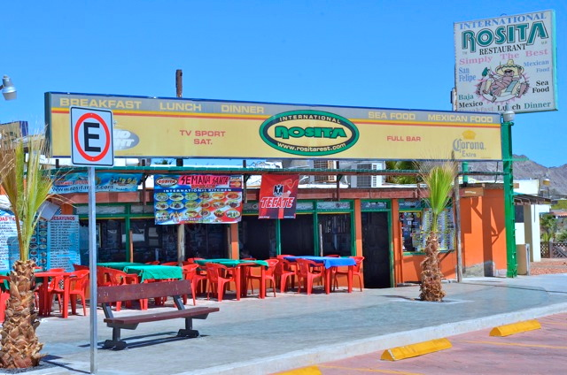Rosita restaurant front entrance