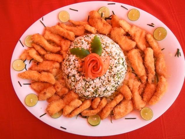 Baja Mar - Fried shrimp