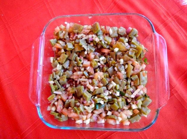 Baja Mar - salad plate