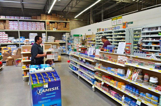 Bodega Aurrera San Felipe Pharmacy