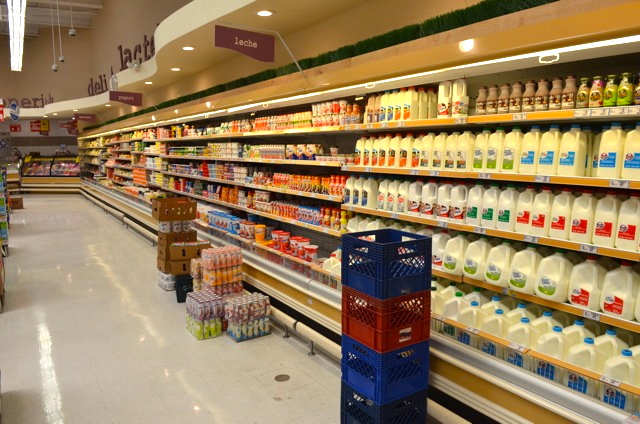 Calimax Dairy section