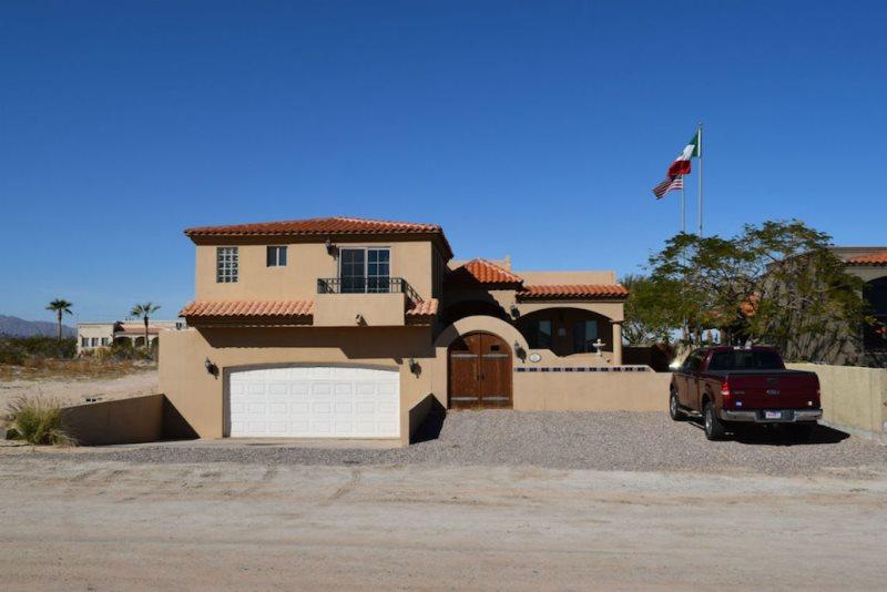 Casa Talebi El Dorado Ranch San Felipe  - Front view