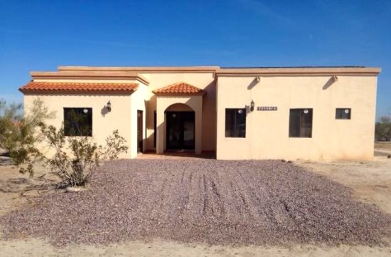 San Felipe rental - Casa Dooley - Front View