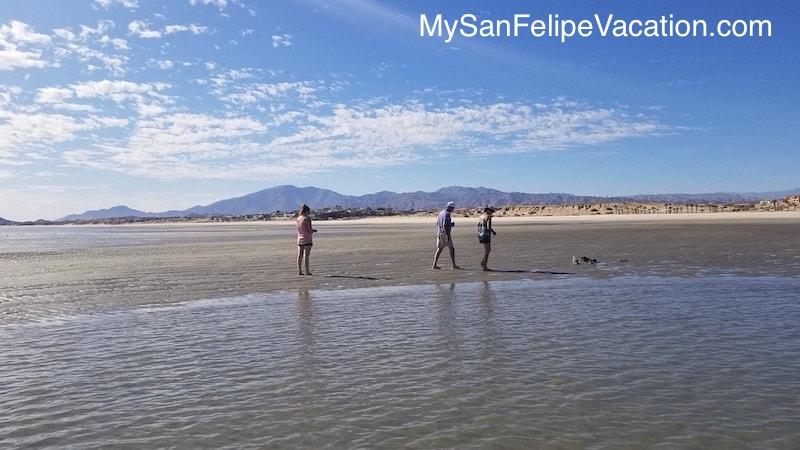 La Ventana del Mar beach  El Dorado Ranch San Felipe