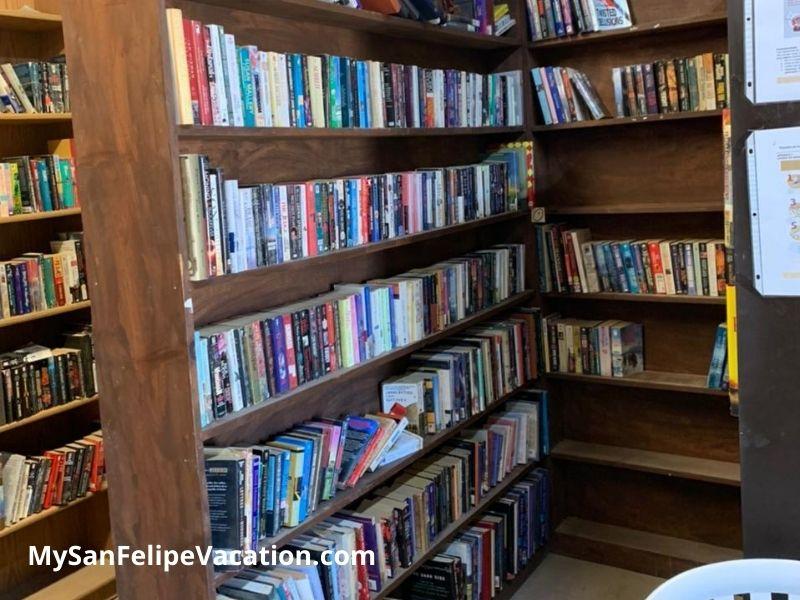 El Dorado Ranch San Felipe library - science section