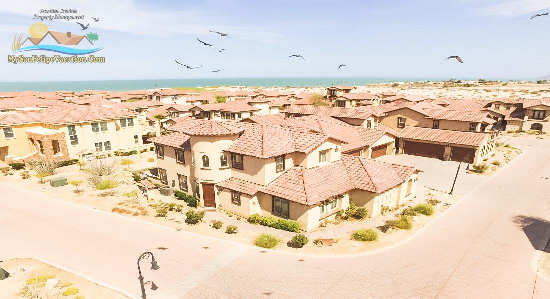 El Dorado Ranch rental condo 22-4 - Aerial perspective