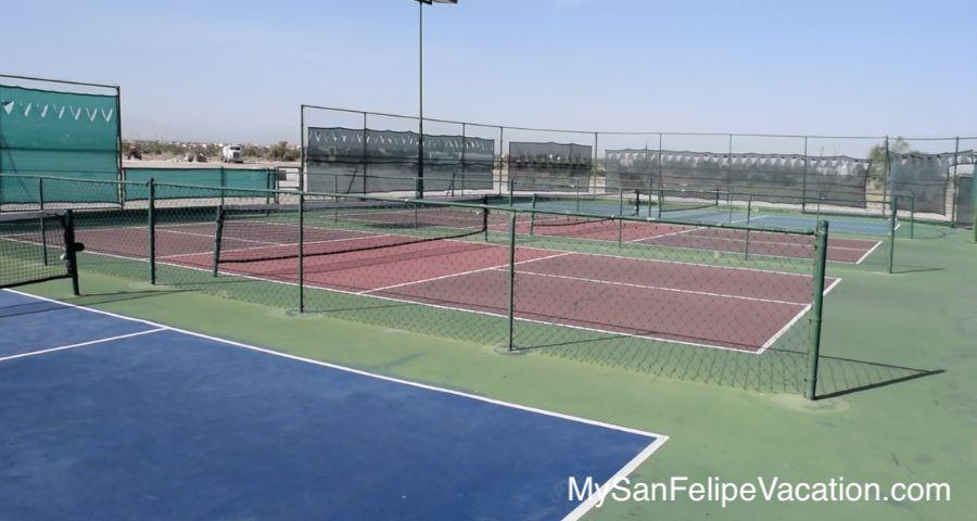 El Dorado Ranch San Felipe Mexico Tennis