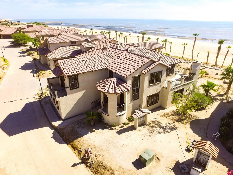 san felipe baja villa 77-3 dorado ranch aerial view
