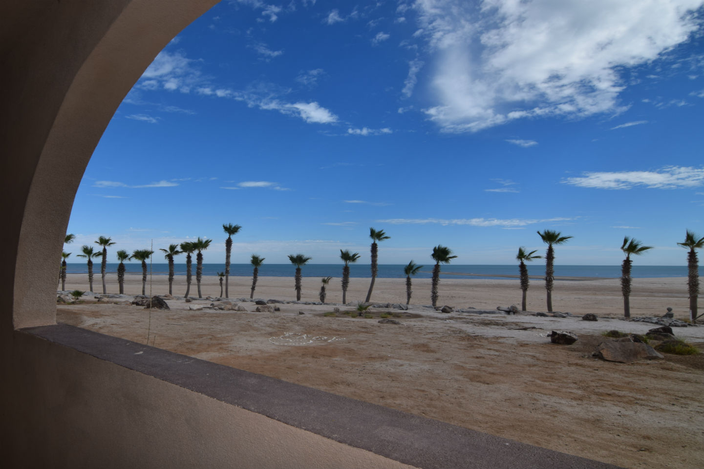 Beach view from front patio