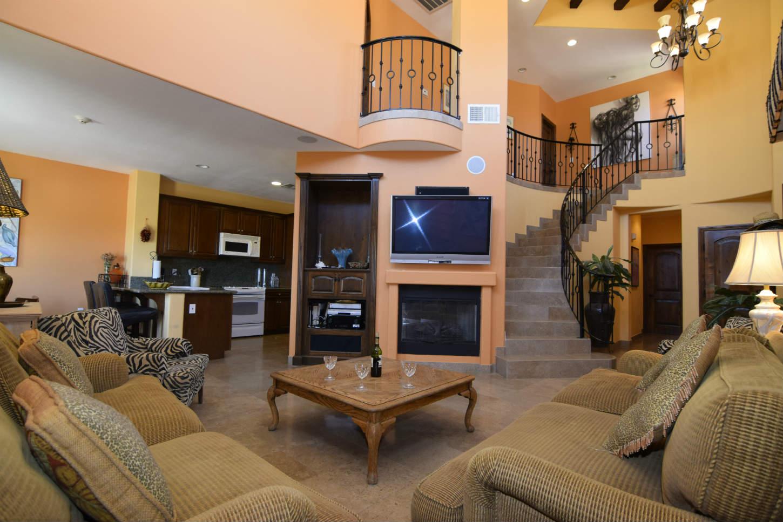 El Dorado Ranch San Felipe Rental villa 8-4  -  Living room view