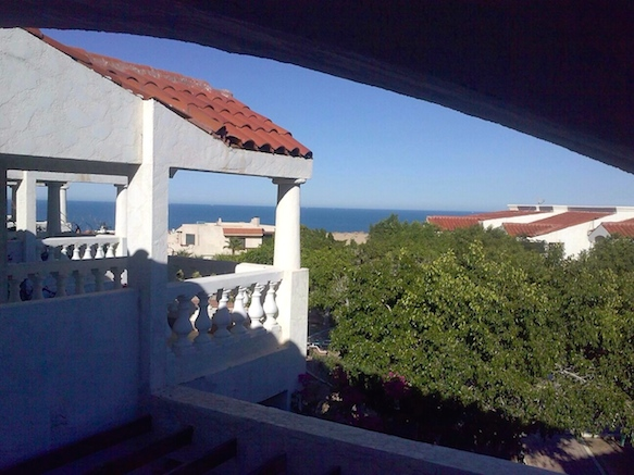 la hacienda San Felipe vacation rental condo 7 - Beach view from patio