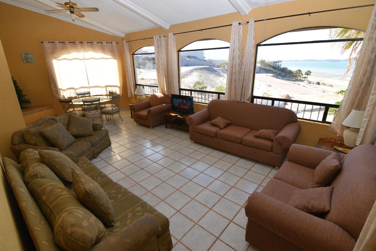 La Hacienda casa Julieta - living room