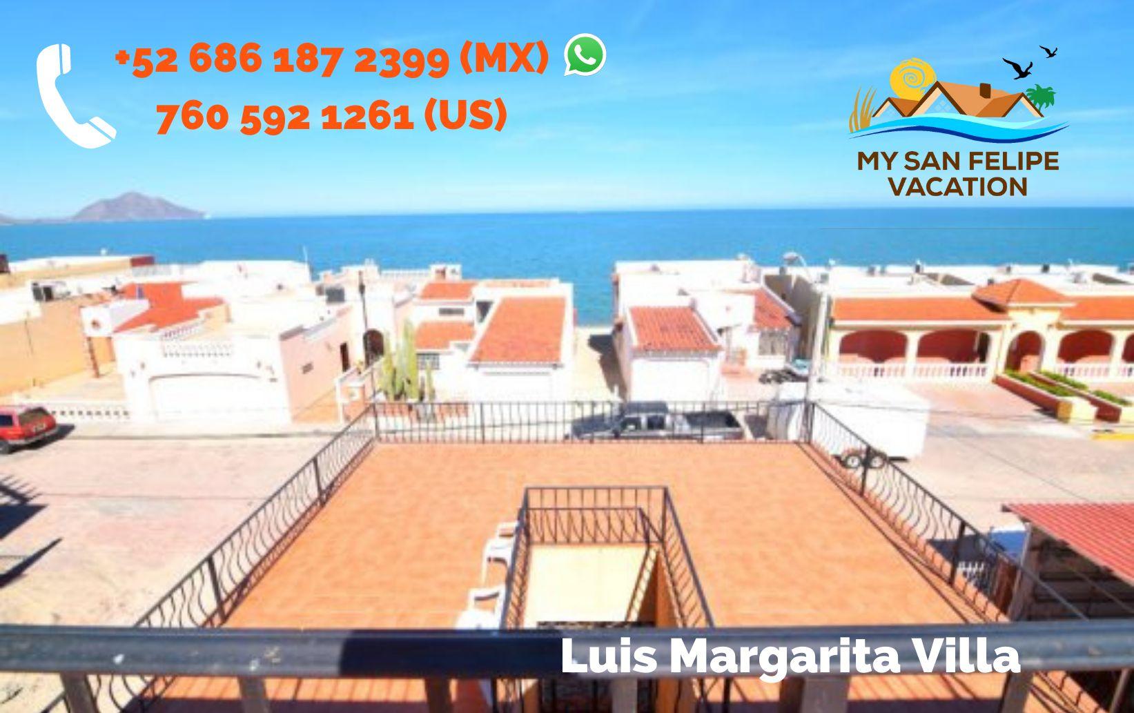 Luis Margarita Villa - Top Balcony view