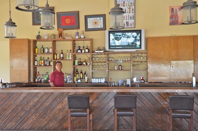 The Pavilion restaurant bar