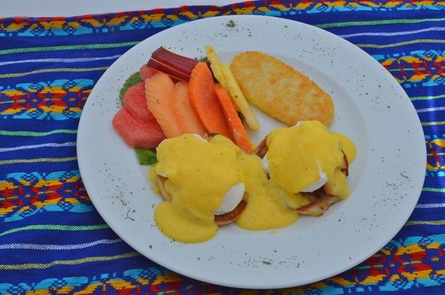 The Pavilion restaurant fruit plate combo