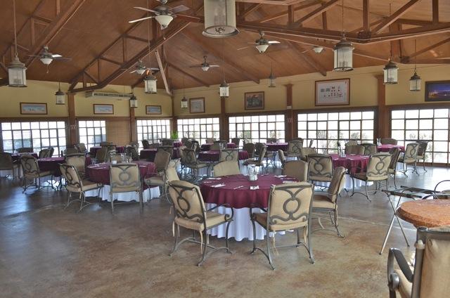 Pavilion El Dorado Restaurant indoor seating