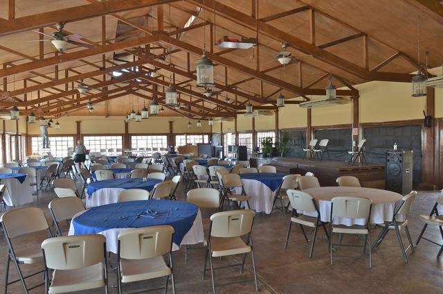 The Pavilion restaurant dining hall