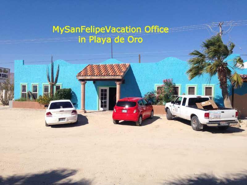 MySanFelipeVacation property management office view
