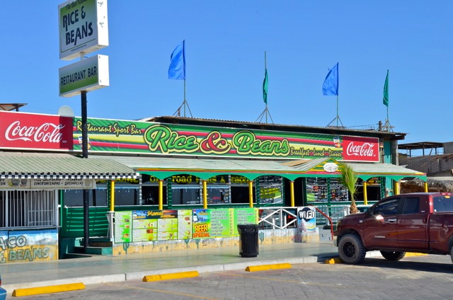 Rice & Beans restaurant San Felipe front view