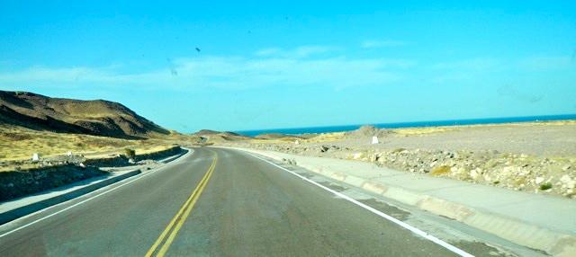 road from san felipe to Bahia San Luis Gonzaga