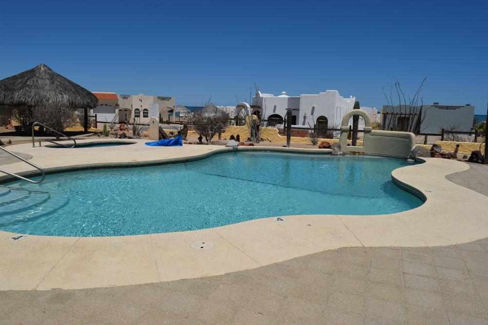 Los Sahuaros San Felipe Resort swimming pool