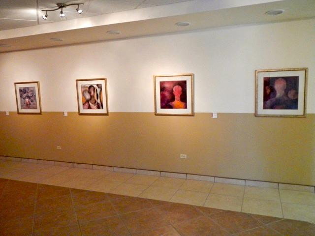Painting exhibit at San Felipe, Mexico Cultural center