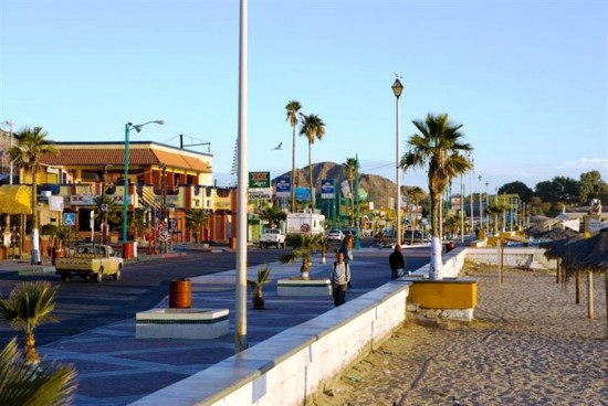 San Felipe Baja California Mexico Malecon