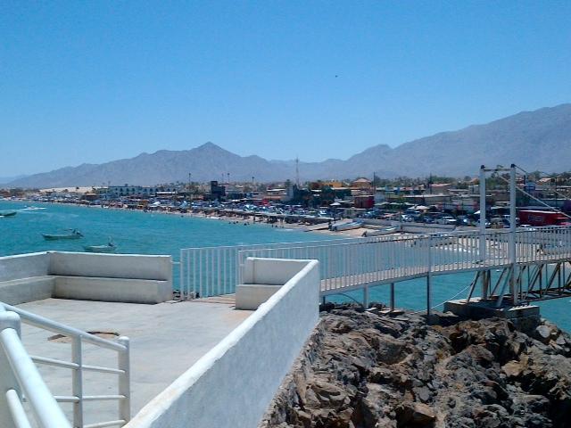 San Felipe Baja Mexico city view