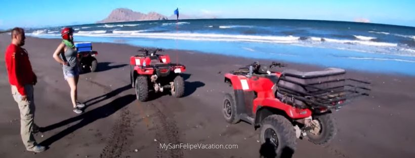 ATV riding in San Felipe, Baja