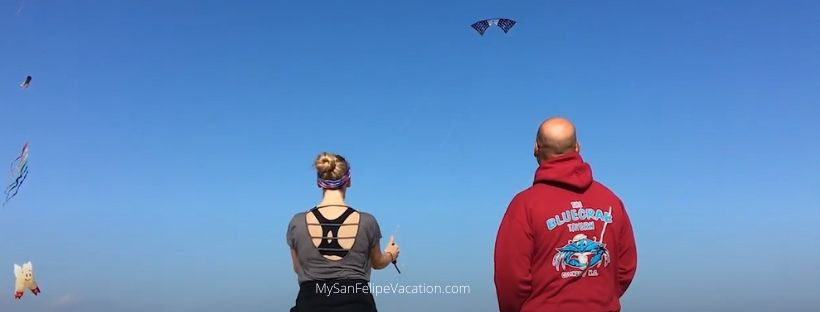 Things to do in San felipe on Vacation - Kite Flying