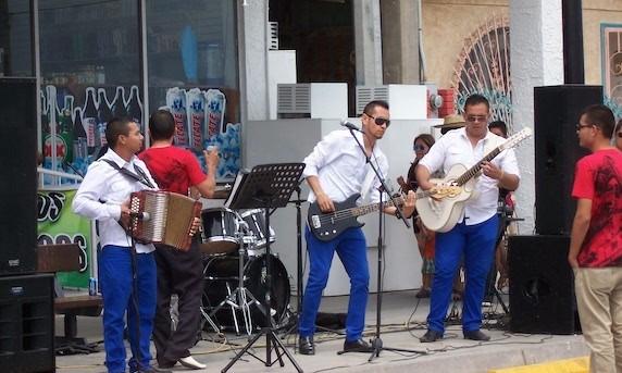 San Felipe Malecon dance party
