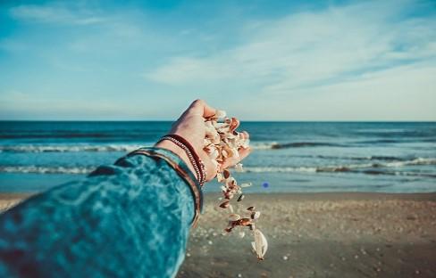 San Felipe - Creating a beach necklace