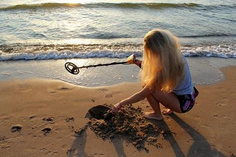 San Felipe vacation - Beach metal detection