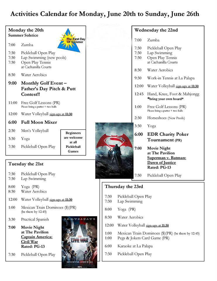 San Felipe Baja California Activities Calendar