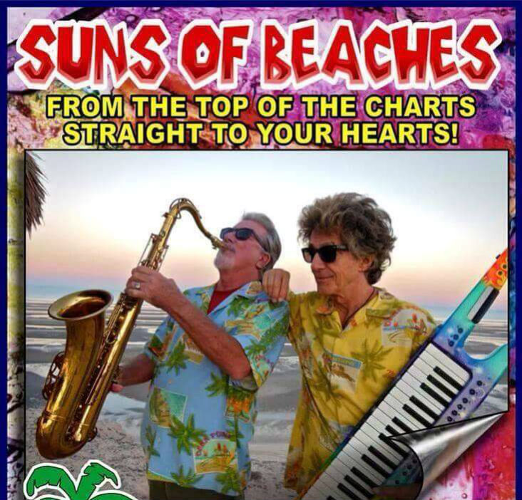 Live music performance by Suns of Beaches band in San Felipe Baja Mexico