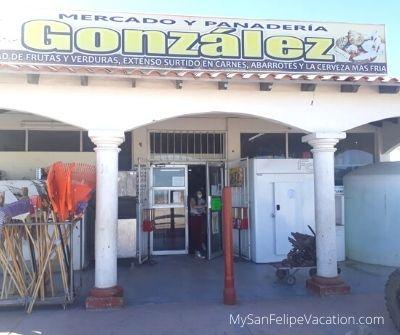 Gonzalez Mercado San Felipe - Entrance